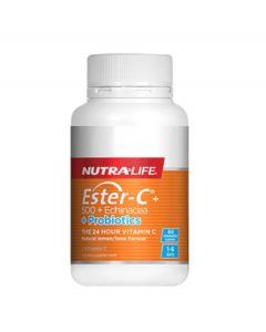 Nutra-Life Ester-C + Echinacea + Probiotic Chewable 60 Tab