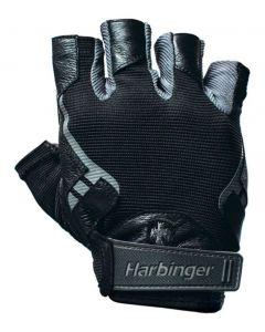 Harbinger Men's Pro Lifting Gloves BLACK