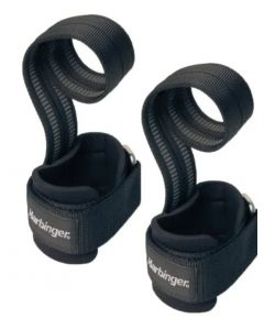 Harbinger Big Grip Pro Lifting Straps Black