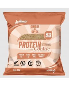 Justines Keto Friendly Protein Cookie Box of 10 25g