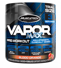 Muscletech Vapor Max 3 Serve Trial Size