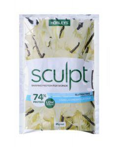 Horleys Sculpt Sachet 25g 20 Packets - Vanilla