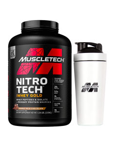 MuscleTech Nitro Tech 100% Whey Gold 5.5lb