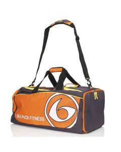 Six Pack Fitness Prodigy 300 Varsity Duffle Bag - Purple/Orange/Yellow