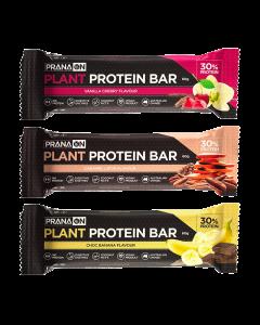 Pranaon Plant Power Protein Bar x12