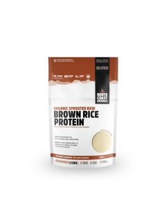 North Coast Naturals Organic Sprouted Raw Brown Rice Protein 840g