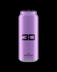 3D Energy Drinks - 12 pack