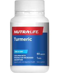 Nutra-Life Turmeric+ One-A-Day 60 Cap