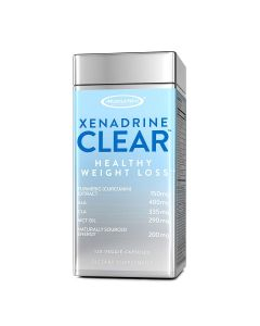 Muscletech Xenadrine Clear - Healthy Weight Loss - 120 Veggie Caps