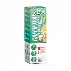 X50 Green Tea + Resveratrol Assorted 6 Serve