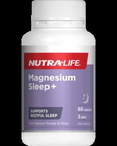 Nutra-Life Magnesium Sleep+ 60 Cap