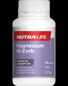 Nutra-Life Magnesium Hi-Zorb 60 Cap