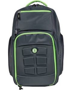 Six Pack Fitness Expedition 300 Back Pack - - Black/Green