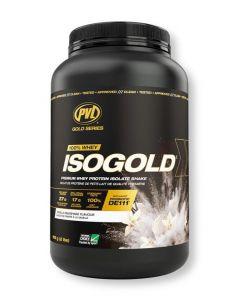 PVL ISOGOLD - Premium Isolate Protein 2lb