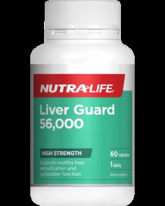 Nutra-Life Liverguard 56000 60 Cap