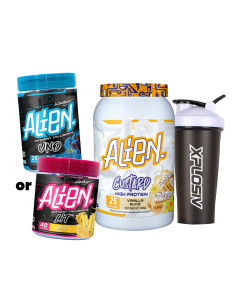 Alien Custard Protein 1kg  Plus Pre or Fat Burner
