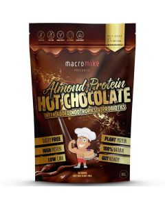 Macro Mike Almond Protein Nootropic Hot Chocolate