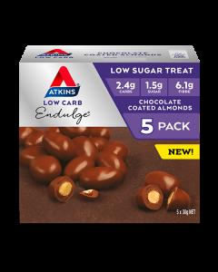 Atkins Endulge Low Carb Treat Chocolate Coated Almonds 150g