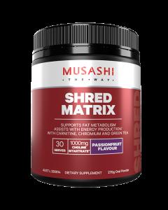 Musashi Shred Matrix 270g