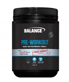 Balance Natural Pre-Workout 30 Serve