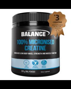 Balance 100% Pure Creatine 200g