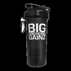 Muscletech 2 in 1 Big Gainz Shaker 600ml