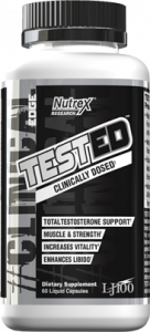 Nutrex Tested Total Testosterone Support