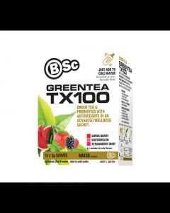 BSC Green Tea TX100 Assorted 12 Pack