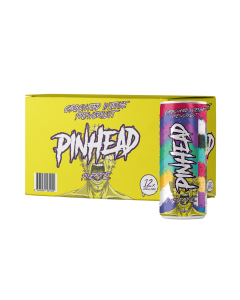 Scream Supps - Pinhead Intense Pre Workout RTD Box of 12