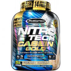 MuscleTech Nitro-Tech Casein Gold 5lb