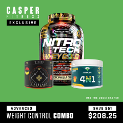 Casper Fitness Advance Weight Control Combo