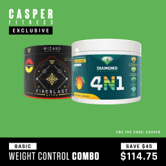 Casper Fitness Basic Fat Burner Combo