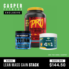 Casper Fitness Lean Mass Stack