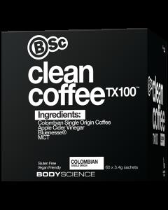 BSC Clean Coffee TX100 60 Serve