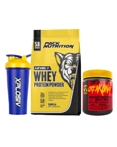 Pack Nutrition Level 1 Whey Protein Powder 5lb