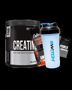 Switch Nutrition Creatine Monohydrate (750g) 240 Serves