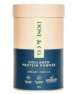 Dose & Co Collagen Whey Protein Powder 420g