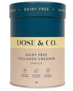Dose & Co Dairy Free Collagen Creamer 340g
