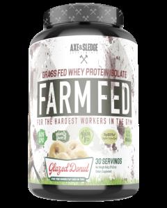 Axe & Sledge Farm Fed - Grass Fed Whey Isolate