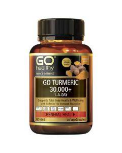 GO Healthy GO Turmeric 30,000+ 1-A-Day 30  Caps