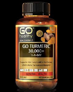 GO Healthy GO Turmeric 30,000+ 1-A-Day  60Caps