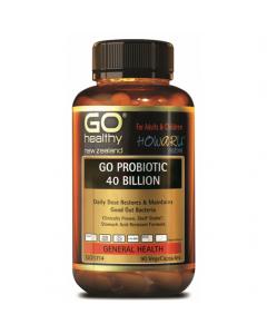GO Healthy Probiotic 40B 90 Caps
