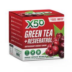 Green Tea x50 + Revesatrol 60 Serve
