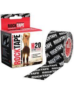 Rocktape H2o Logo Black Pattern 5cm x 5mtr Roll