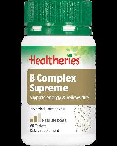 Healtheries B Complex Supreme 60 Tab