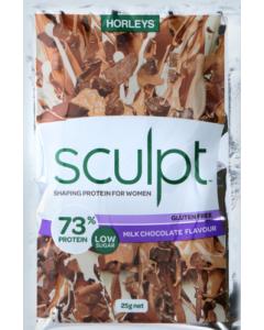Horleys Sculpt Sachet 25g 20 Packets - Milk Chocolate
