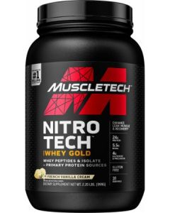 Nitro Tech 100% Whey Gold 2.2lb