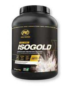 PVL ISOGOLD - Premium Isolate Protein 5lb