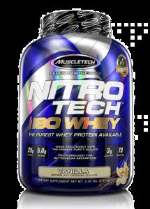 Nitro-Tech 100% Iso Whey 5lb