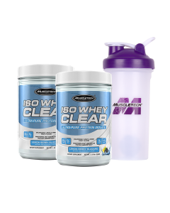 Muscletech IsoWhey Clear - Fruity/Juice Like Mix-ability Buy 1 Get 1 FREE